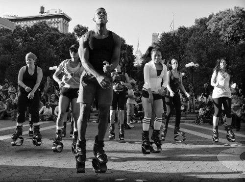 Union Square Pogo dance action. I recall shooting this, then dumping into a folder and forgetting about it. When I found it again I was thrilled to post edit and have a solid NYC street shot. A gem, hidden in a seldom used hardrive.