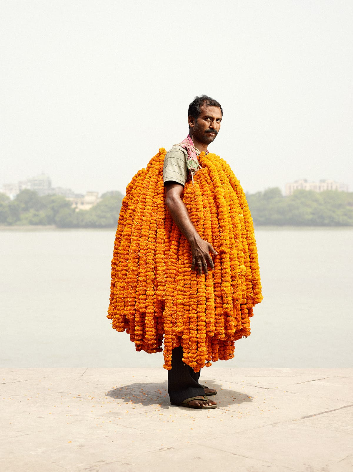 Flower Man: The Men Who Sell Flowers in India
