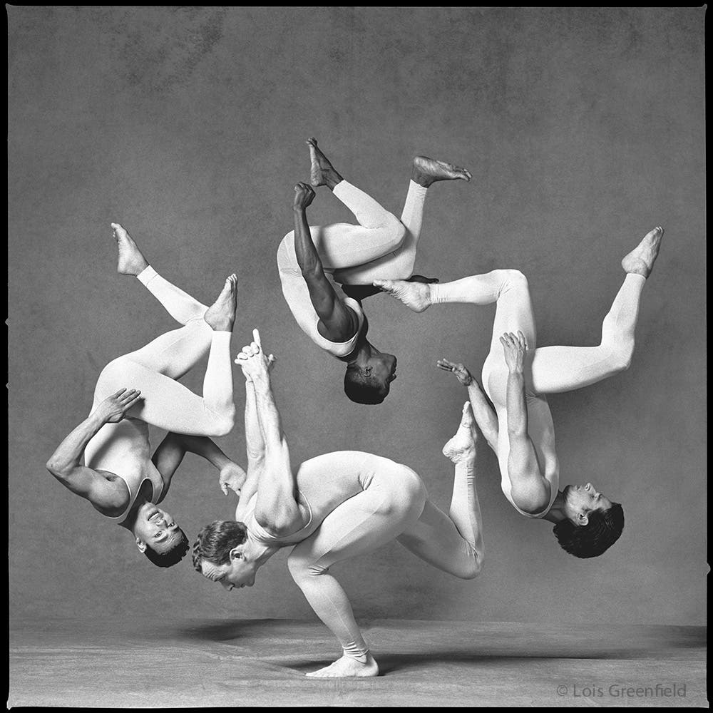 Chris Harrison, Andrew Pacho,  Flipper Hope & Harrison Beal / Antigravity Dance Company, 1993