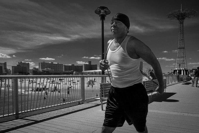 Ron Gessel: Black and White Street Photography in Coney Island