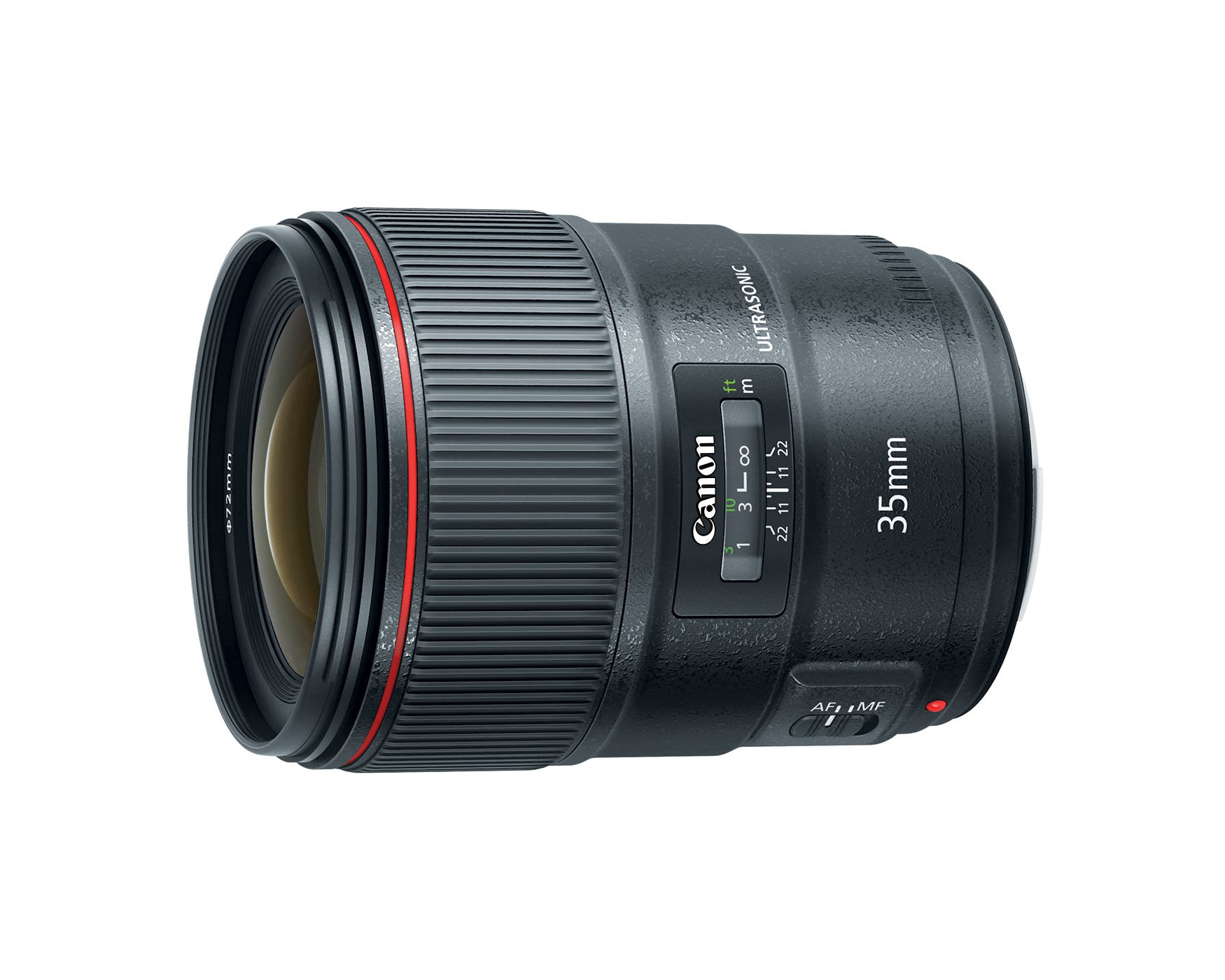 Canon 35mm f1.4 L II Features a Blue Refractive Element