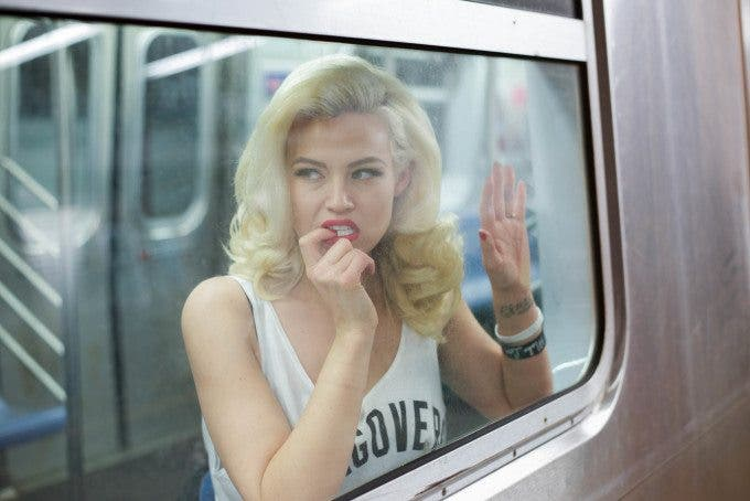 Underground_nyc: Photographing Models in the NYC Subway