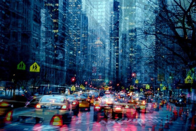 Urban Melodies: a Multiple Exposure Cityscape Photo Project