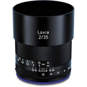 Zeiss Loxia 35mm f:2 Biogon T* Lens for Sony E Mount