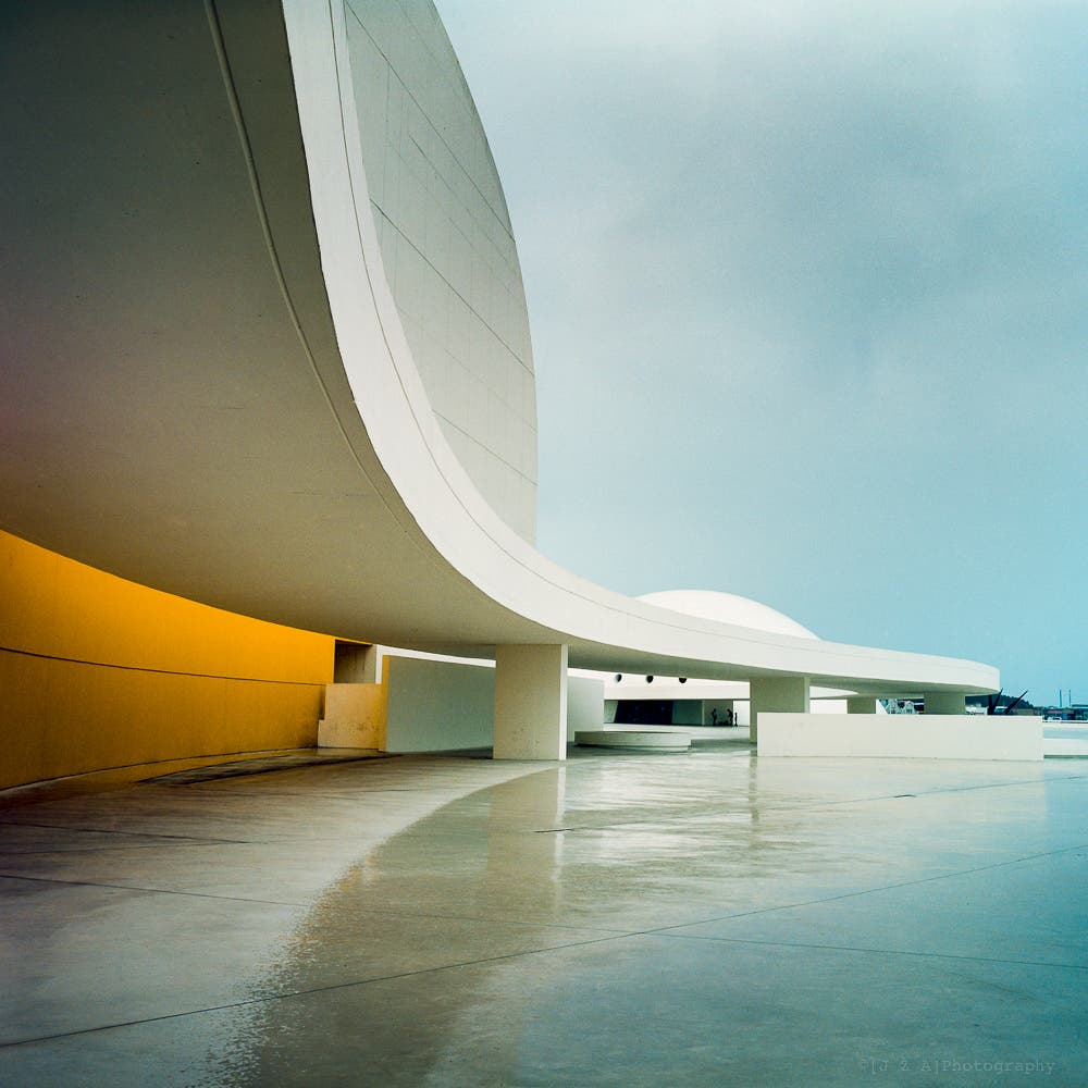 James Attree On Film Architecture Photography