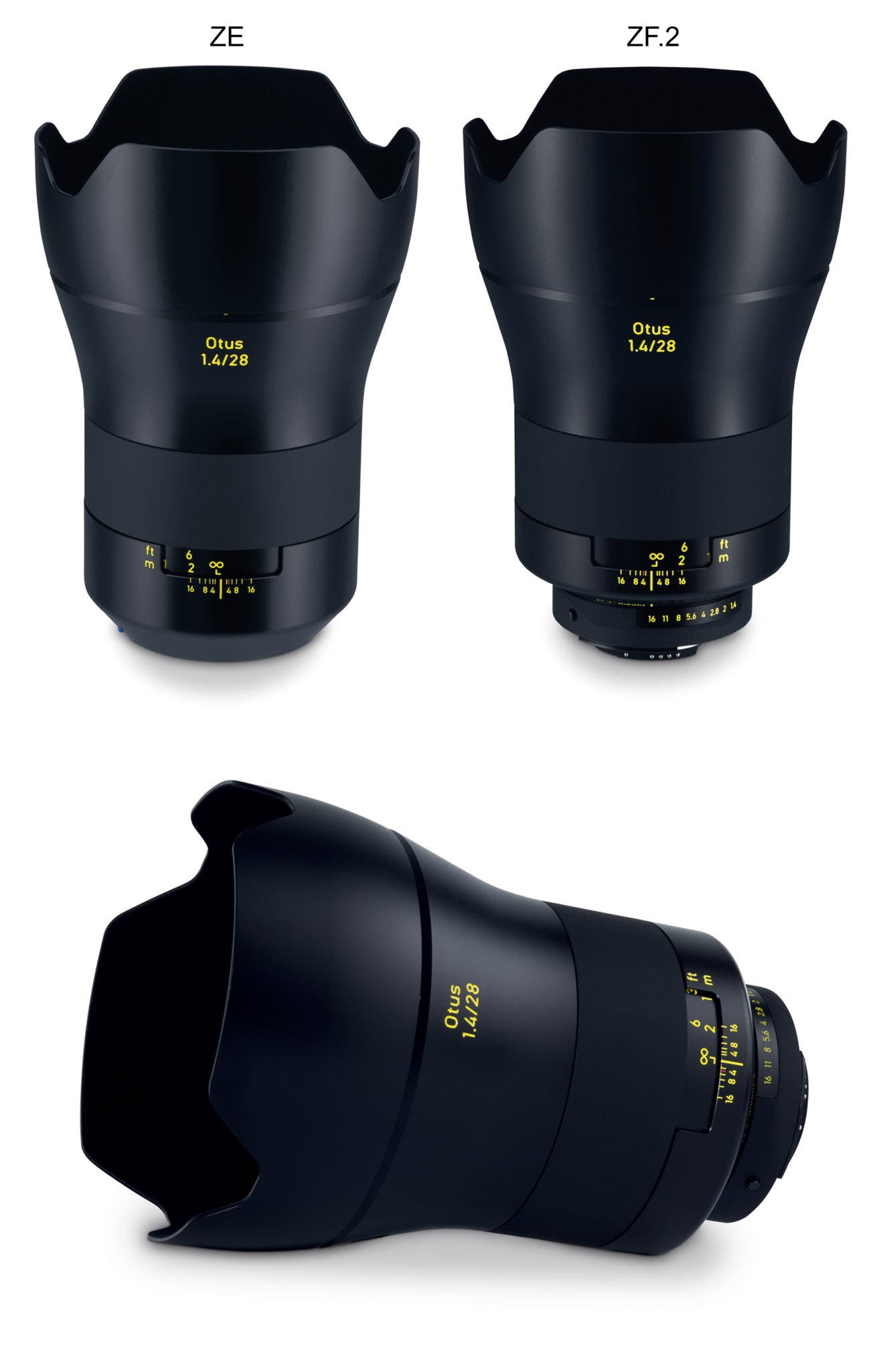 ZEISS Otus 1.4/28 for sophisticated fans of wide-angle lenses.