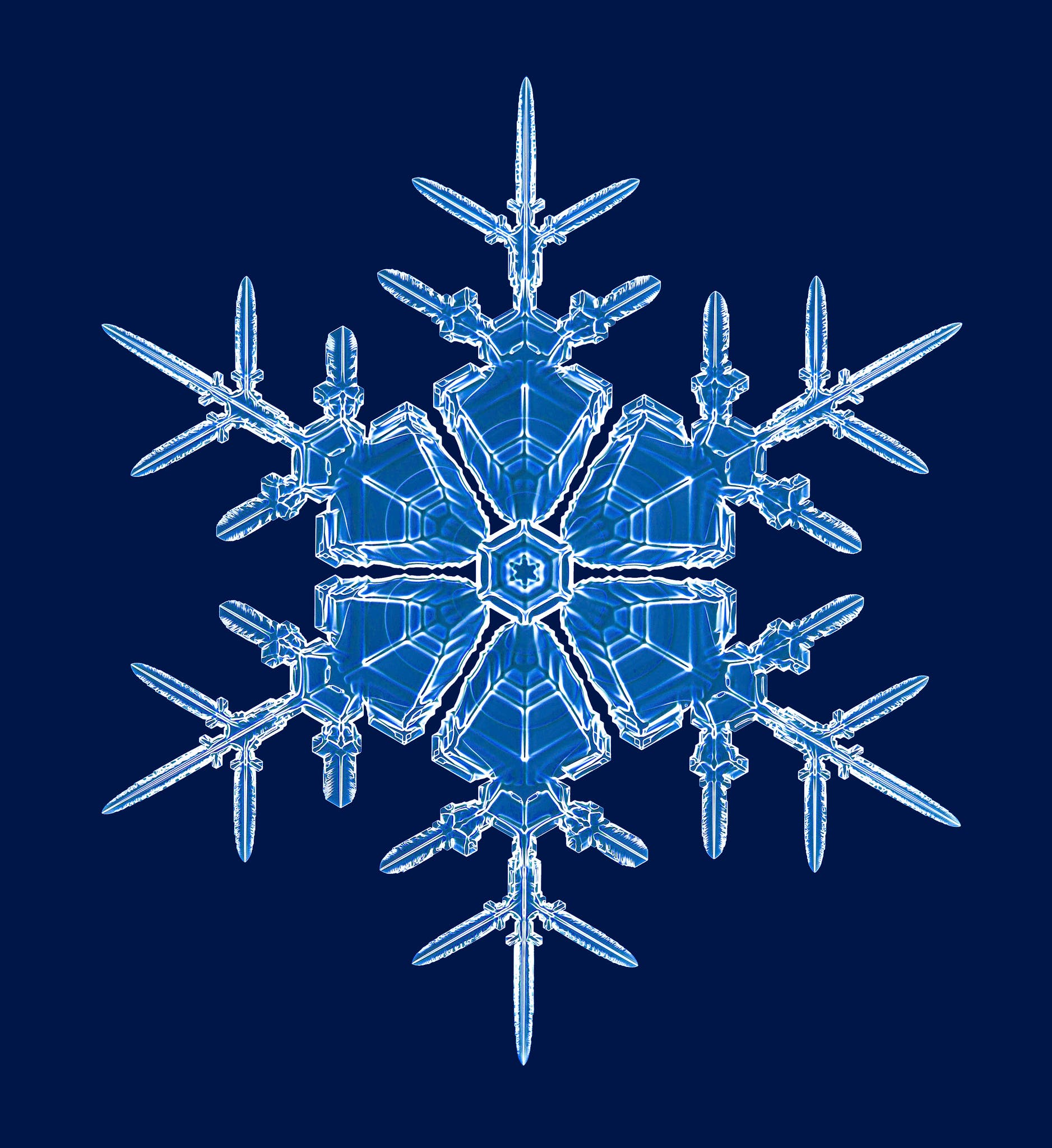 kenneth libbrecht photographing lab made snowflakes