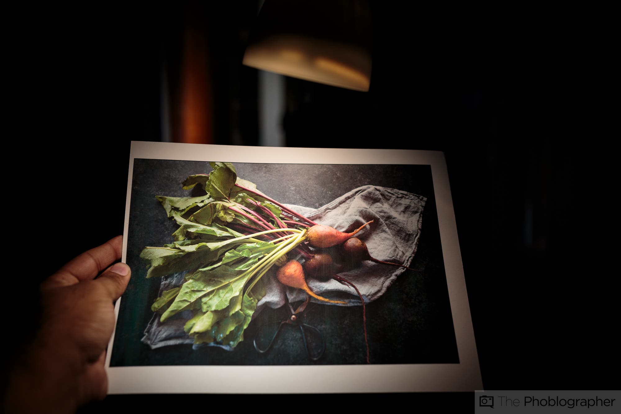 How to Properly Light a Printed Photo in Your Home