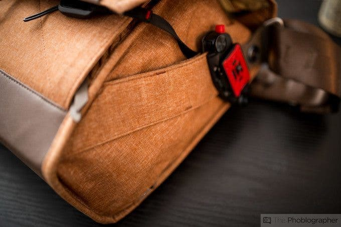 Chris Gampat The Phoblographer Peak Design Messenger bag review product images at home (10 of 11)ISO 4001-60 sec at f - 1.4