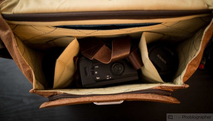 Chris Gampat The Phoblographer Peak Design Messenger bag review product images at home (4 of 11)ISO 4001-60 sec at f - 1.4