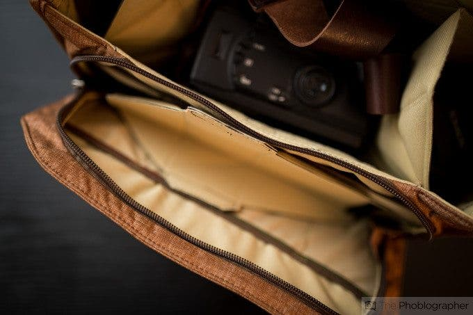 Chris Gampat The Phoblographer Peak Design Messenger bag review product images at home (5 of 11)ISO 4001-60 sec at f - 1.4