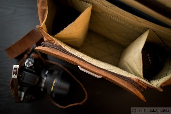 Chris Gampat The Phoblographer Peak Design Messenger bag review product images at home (6 of 11)ISO 4001-60 sec at f - 1.4
