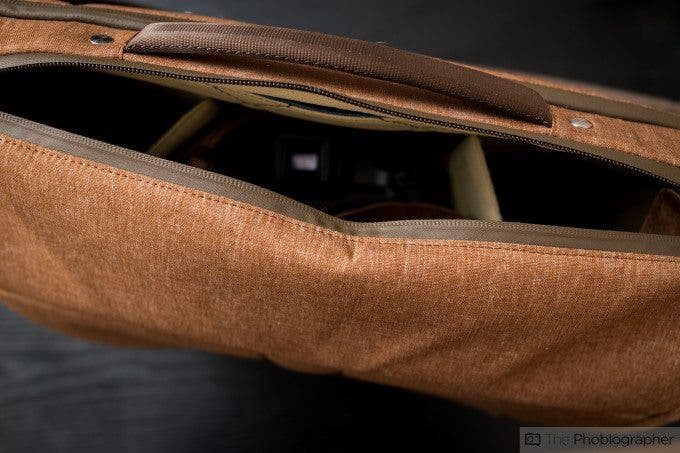 Chris Gampat The Phoblographer Peak Design Messenger bag review product images at home (8 of 11)ISO 4001-60 sec at f - 3.5