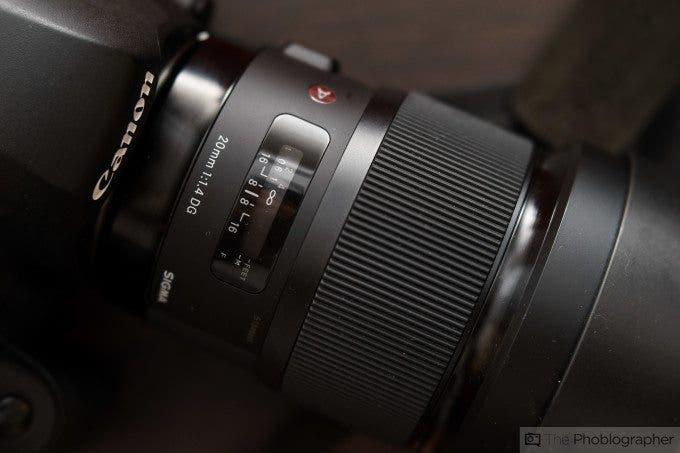Chris Gampat The Phoblographer Sigma 20mm f1.4 Review product images (1 of 7)ISO 4001-160 sec