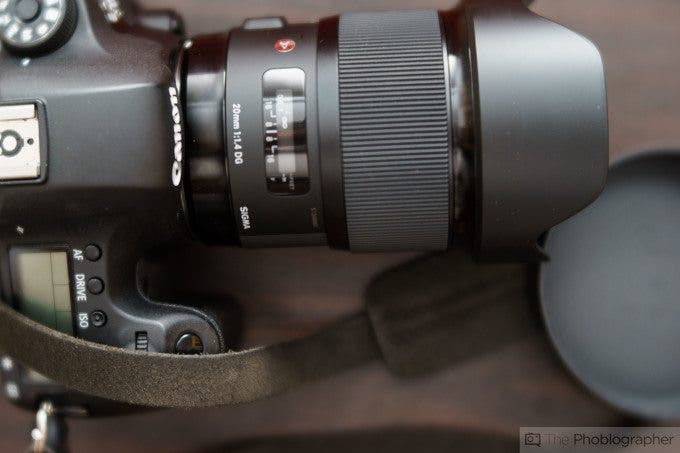 Chris Gampat The Phoblographer Sigma 20mm f1.4 Review product images (7 of 7)ISO 4001-160 sec
