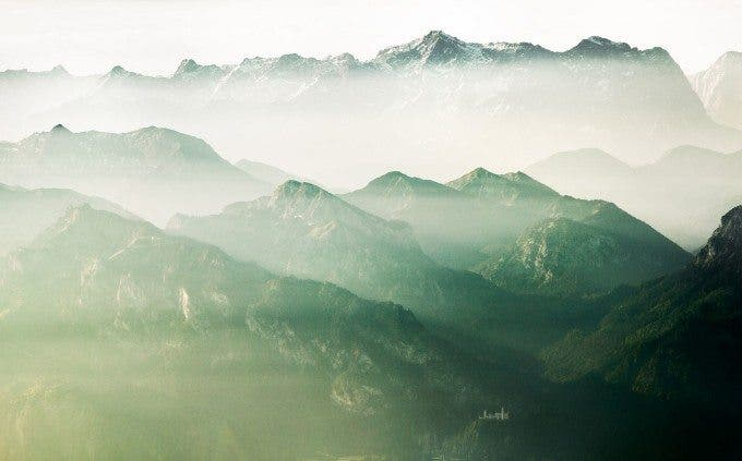Johannes Heuckeroth - The Beauty of Bavaria - 2nd place - NATURE AERIAL - 2