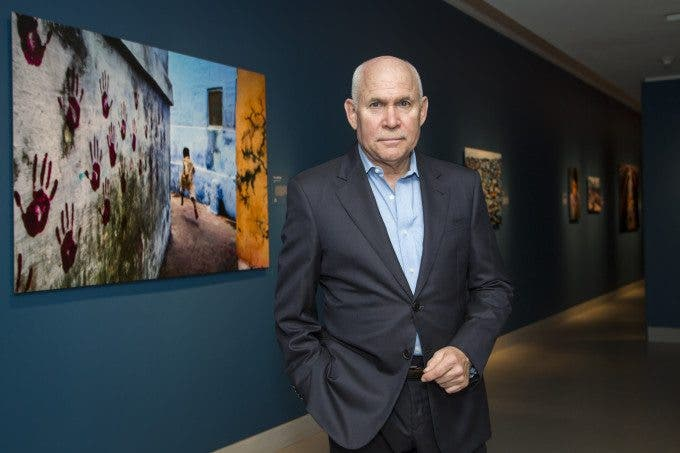 Never Seen Images of India by Steve McCurry on Display