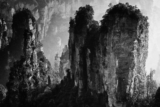 Yi Sun - Ink wash painting of Zhangjiajie - 1st place in FINE ART LANDSCAPE - 2