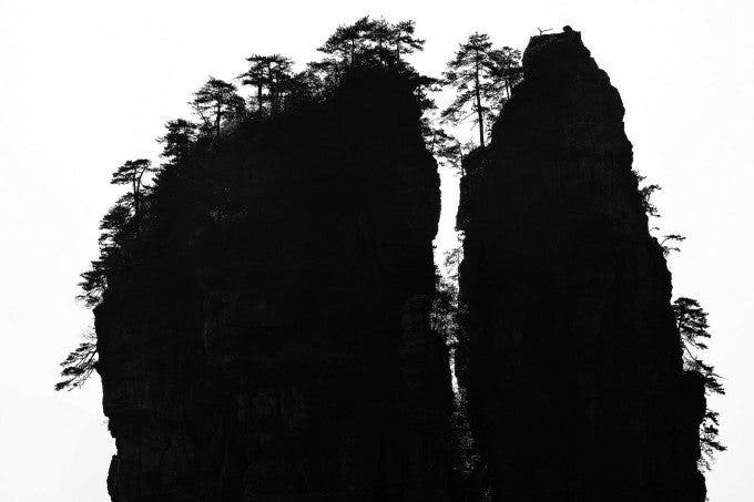 Yi Sun - Ink wash painting of Zhangjiajie - 1st place in FINE ART LANDSCAPE - 3