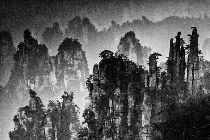 Yi Sun - Ink wash painting of Zhangjiajie - 1st place in FINE ART LANDSCAPE - 5