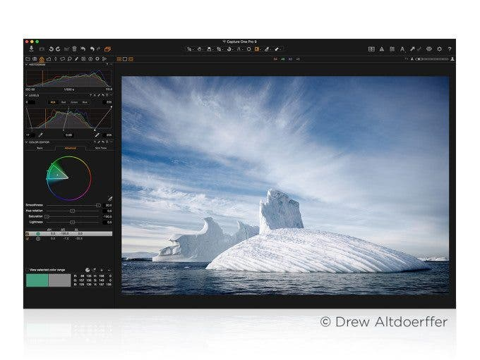 Phase One Announces Capture One Pro 9