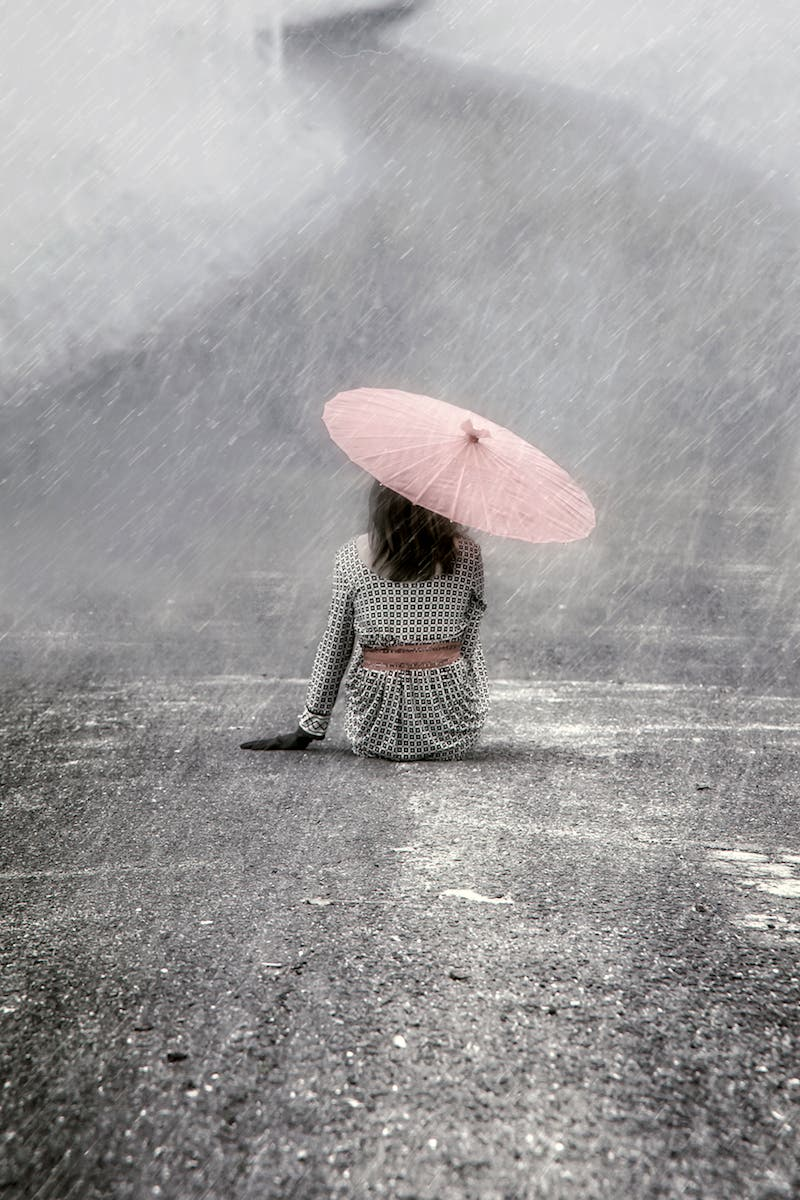 'In the rain' by Joana Kruse. 7th in the crowd vote.