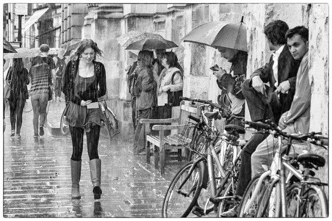 'Rain' by Peter Silver. 8th in the crowd vote.