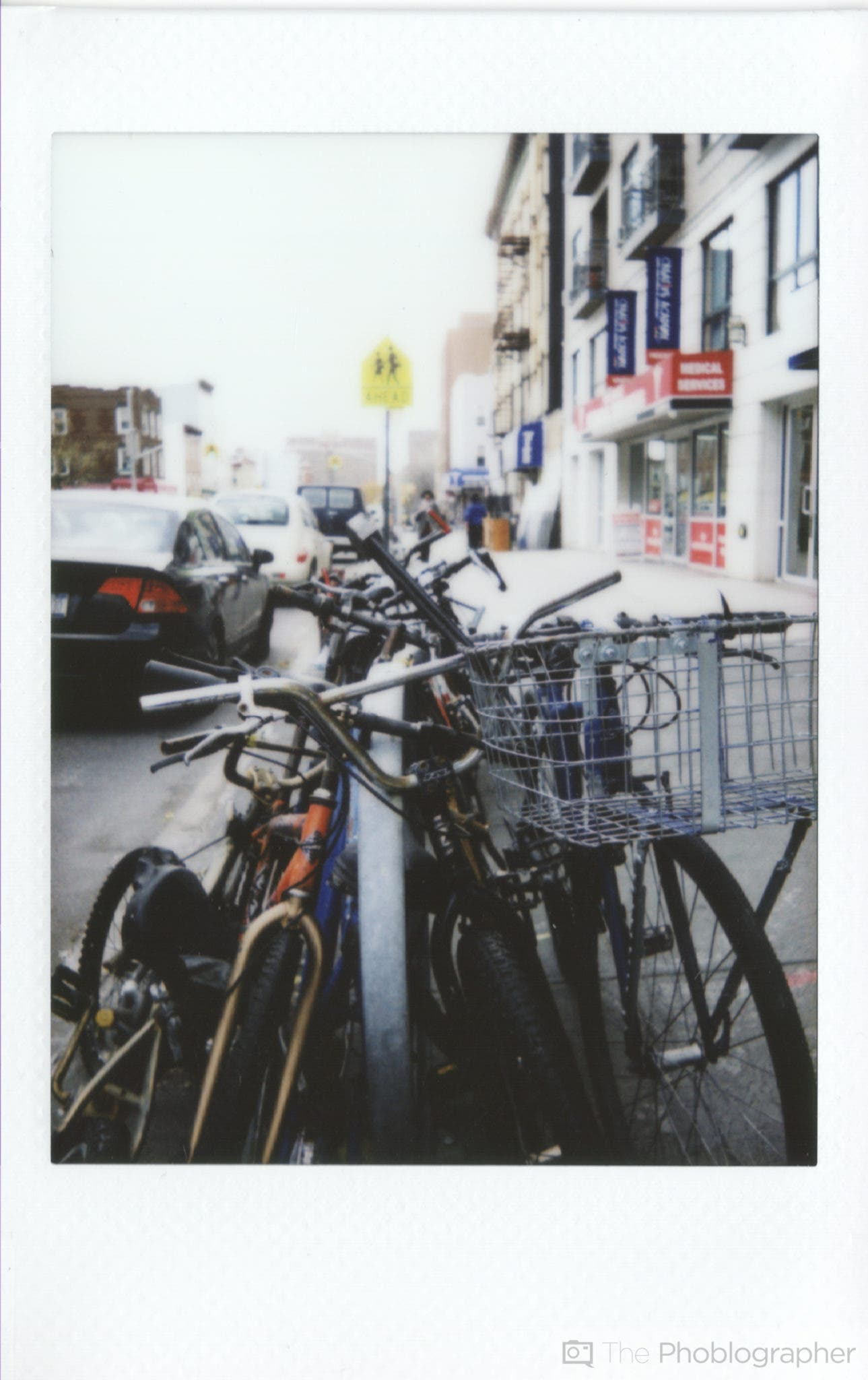 Chris Gampat The Phoblographer Fujifilm Instax Mini 70 scan bikes (1 of 1)