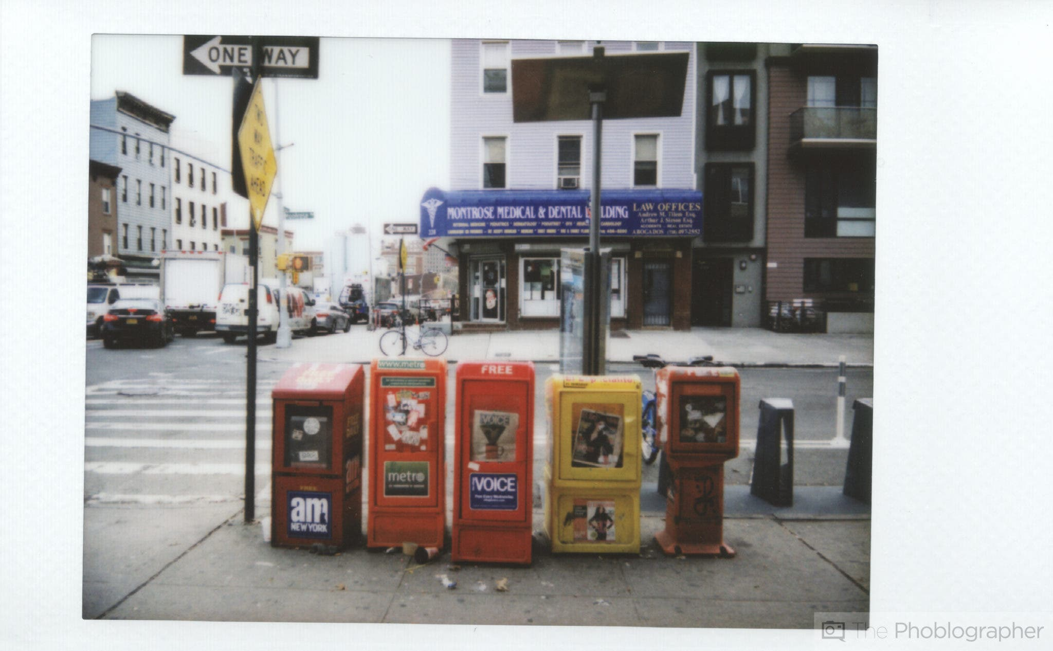 Chris Gampat The Phoblographer Fujifilm Instax Mini 70 scan montrose ave (1 of 1)