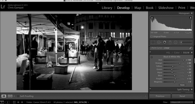 Creating Pure Black and White Images in Adobe Lightroom