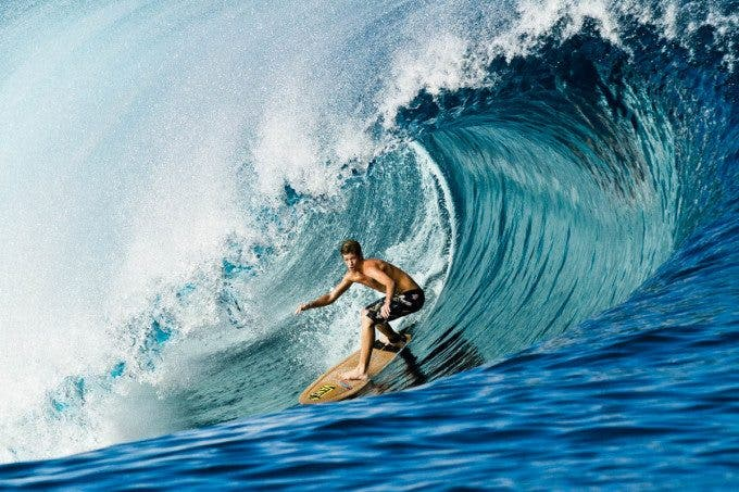 nathan florence surfing a cork stretch teahupoo july 1 2012