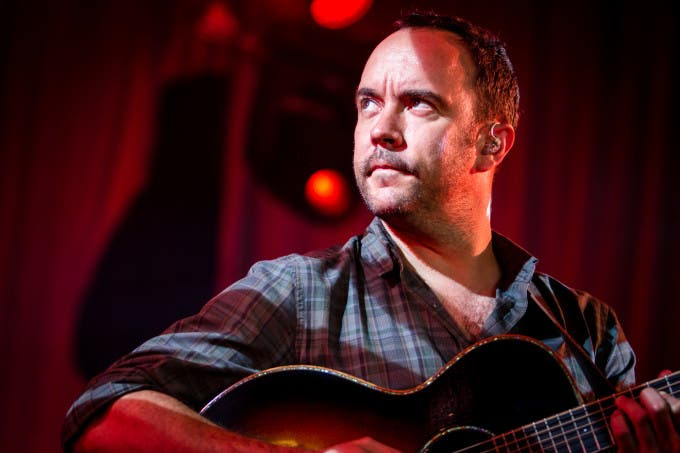 Dave Matthews Band on their Summer tour at Verizon Wireless Amphitheater in St. Louis on July 10th, 2013.