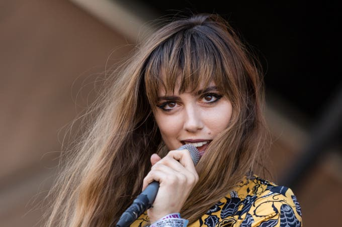 Ryn Weaver playing the Homeaway stage at Austin City Limits Weekend One on Saturday, October 3, 2015.