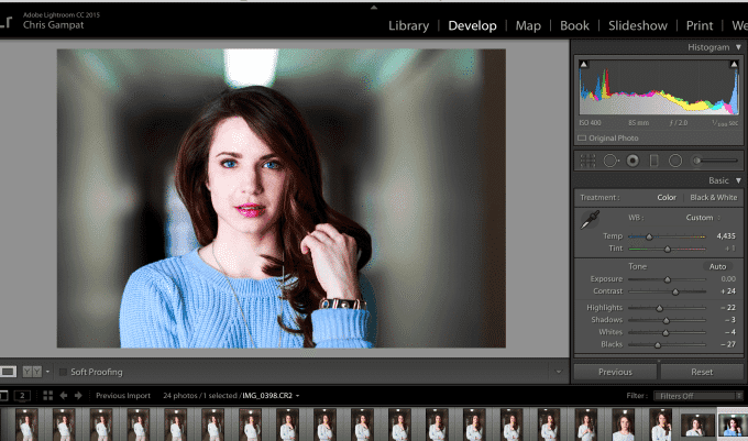 Using Color Effectively in a Portrait