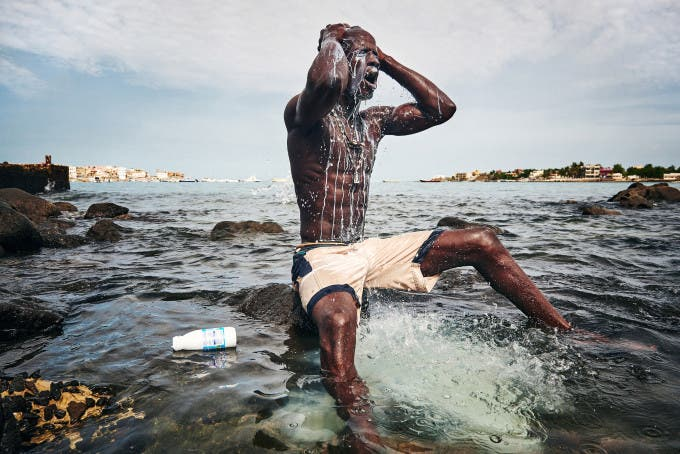 © Christian Bobst - The Gris-gris Wrestlers of Senegal 01