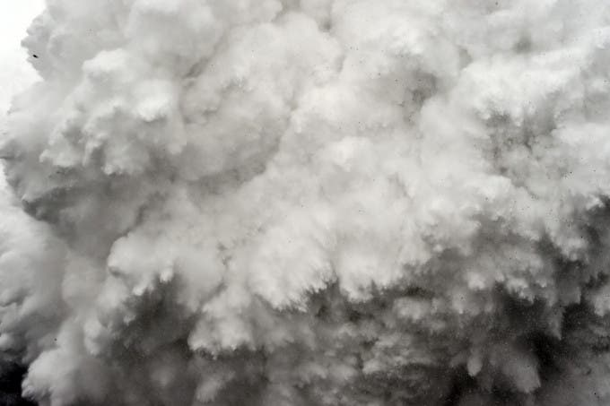 A wall of rock, snow and debris roars toward Everest Base Camp in Nepal before slamming into to the southern part of the camp at midday on April 25, 2015, killing at least 22 people. The avalanche was triggered by a powerful 7.8-magnitude earthquake that killed more than 8,000 people in the country. Rescue helicopters managed to reach the site about 18 hours after the avalanche as bad weather, aftershocks and fears of further avalanches rattled survivors. At the time of the disaster, the 5,364-meter-high Base Camp was teeming with hundreds of climbers and supporting teams who use the base to prepare their ascent to the peak of Mount Everest, the tallest mountain on Earth.