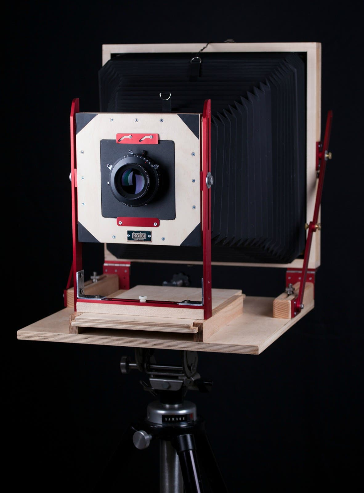 01 - Final Camera - Red Anodized Coating