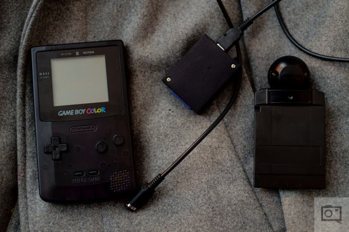 Chris Gampat The Phoblographer Game Boy Camera BitBoy Review product photos (3 of 7)ISO 2001-125 sec at f - 2.0