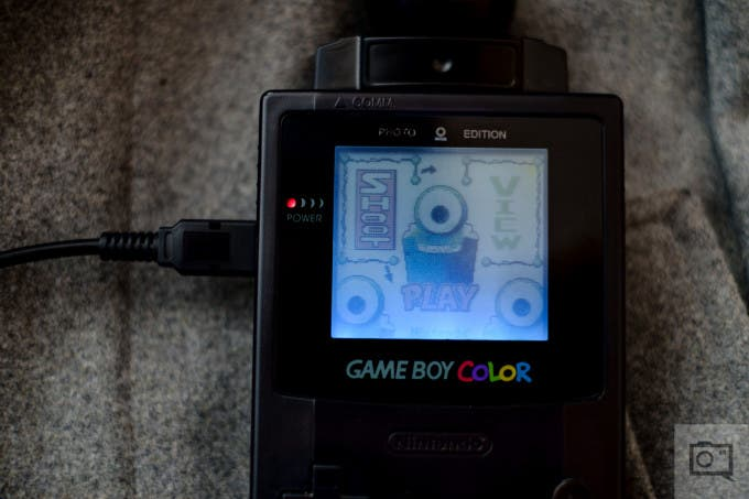 Chris Gampat The Phoblographer Game Boy Camera BitBoy Review product photos (6 of 7)ISO 2001-125 sec at f - 2.0