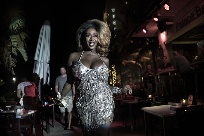 Miami Beach A showgirl, during her performance in ocean drive © Giancarlo Ceraudo, Italy, Shortlist, Professional , Candid, 2016 Sony World Photography Awards