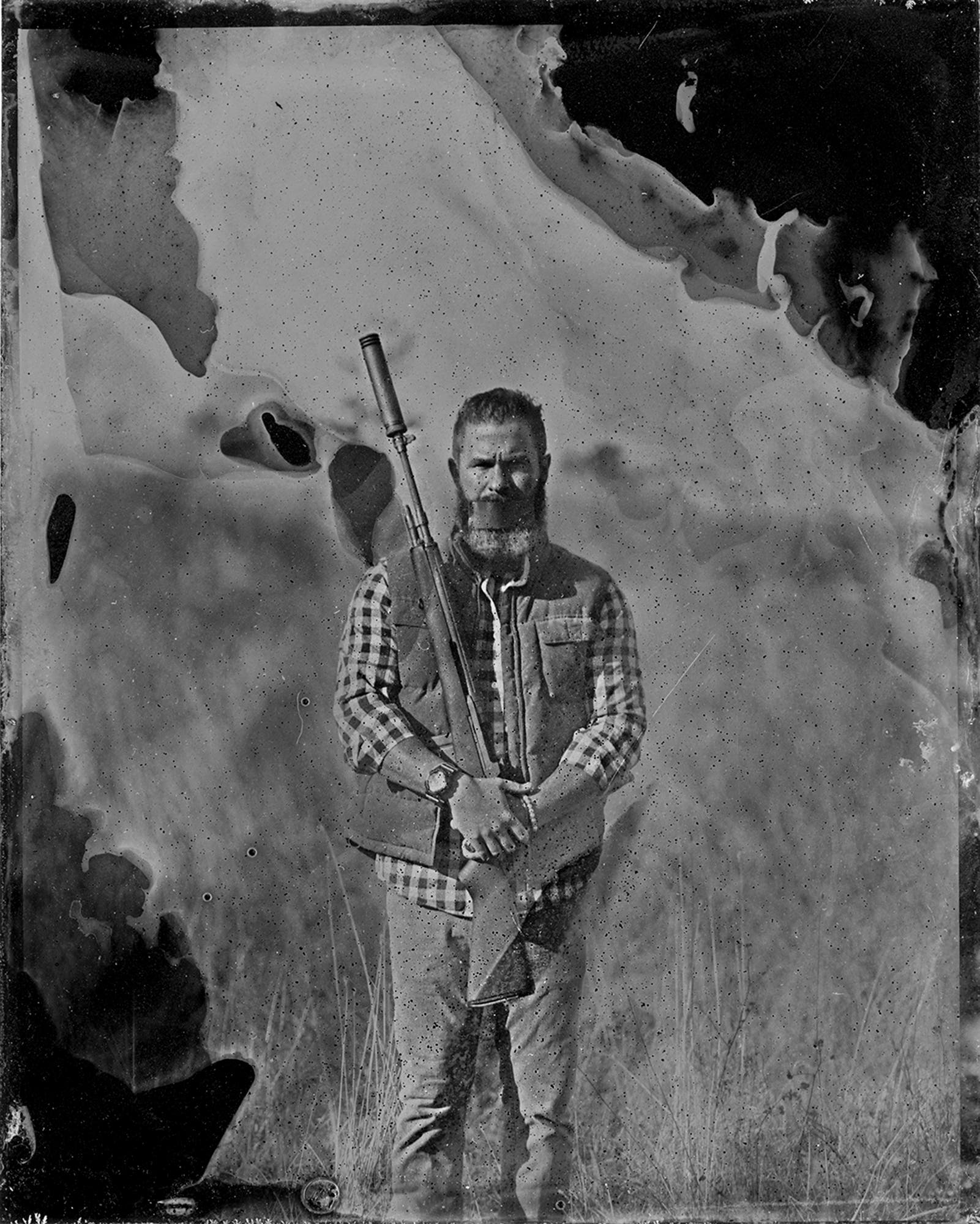 Symbolic Tintype Portraits of Everyday Folks and Their Suppressed Weapons - The Phoblographer