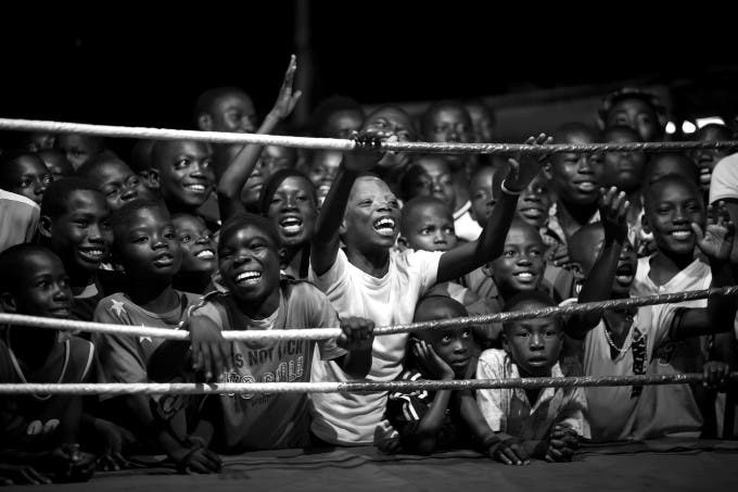 If one is thinking about countries being successful in boxing, just a few will have Ghana in mind. But Ghana produced a couple of world champions in boxing - the most famous one being Azumah Nelson. The weird fact about boxing in Ghana is all world champions are from Bukom, a small neighborhood of Accra. Bukom is a poor suburb, most people work as fishermen. But boxing here has a long tradition - it is the second nature of the people as many say. Hundreds of years ago, the Ga-People, an ethnic group who lives mainly in Accra, developed their own way of fighting. Due to the British influence during colonization, the Ga came in touch with boxing. Since then boxing is the most famous sport in Bukom. Nowadays boxing is much more than a sport, it is a way to escape poverty and everyday problems. Many kids and juveniles dream of being a professional boxer in the US or Europe. They fight for their dreams, literally. © Patrick Sinkel, Germany, Shortlist, Professional , Sport, 2016 Sony World Photography Awards