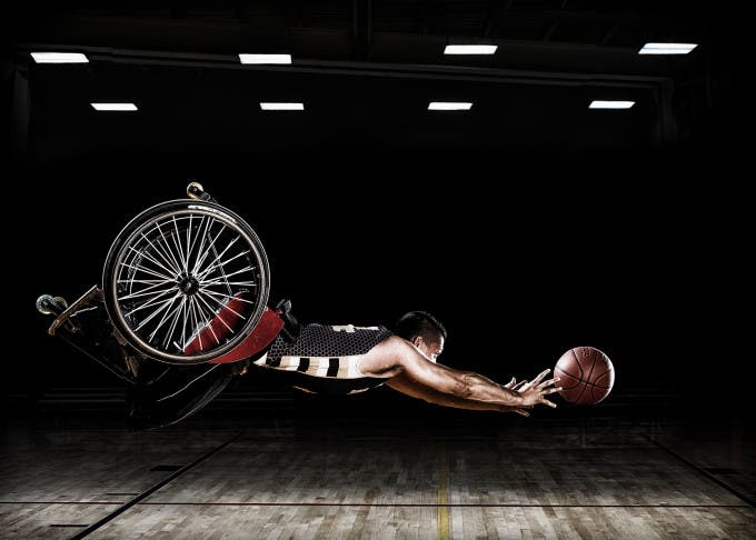 These images were created for the Rehabilitation Institute of Chicago's Adaptive Sports Program and the RIC Hornets wheelchair basketball team. © Rob Gregory, United States, Shortlist, Professional , Campaign, 2016 Sony World Photography Awards