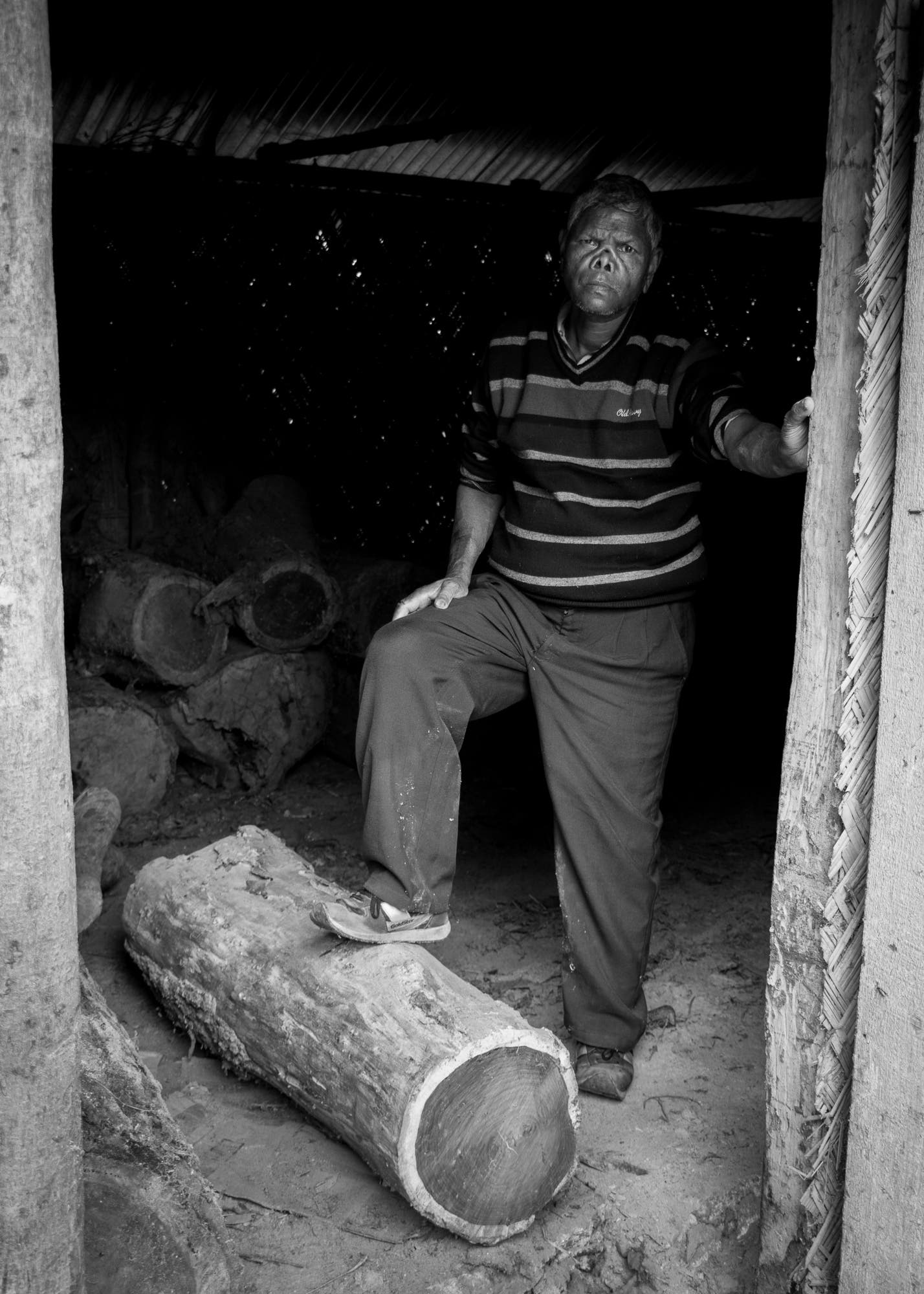 Prakash is a 49 year old man who was diagnosed with leprosy in 1996. He is unable to return to his village due to social stigma, and now works full time at the hospital as part of the rehabilitation programme, living alone in a flat nearby.