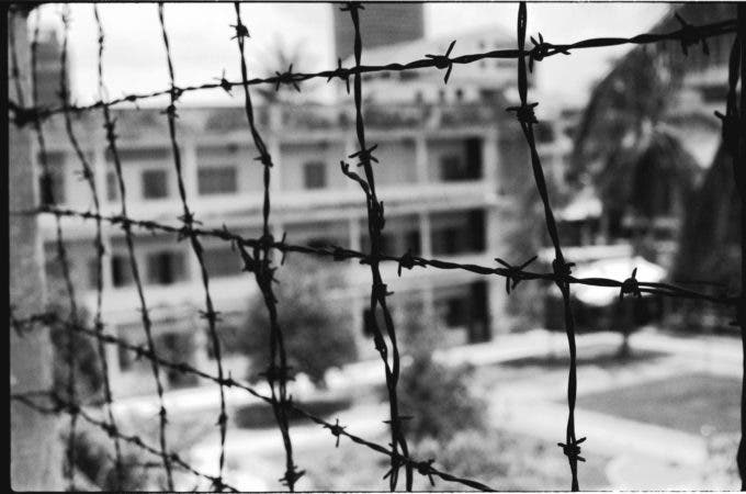 barbed-wire-Cambodian-Concentration-Camp