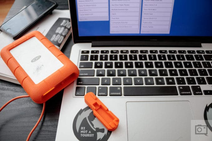 Chris Gampat The Phoblographer LaCie rugged raid thunderbolt 4TB product images (11 of 13)ISO 4001-60 sec at f - 3.5
