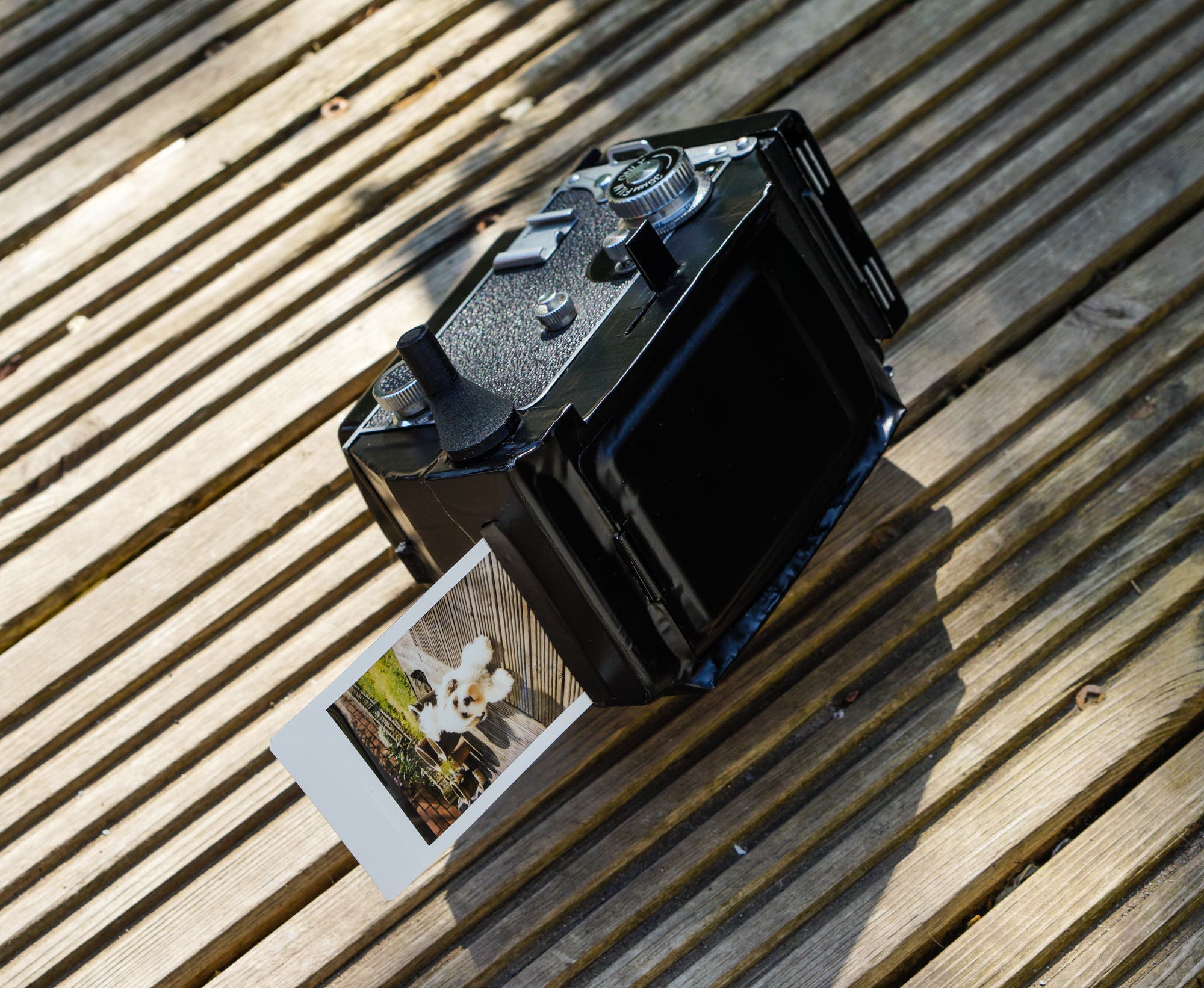 Steve Lloyd: Making a TLR Shoot Fujifilm Instax Film