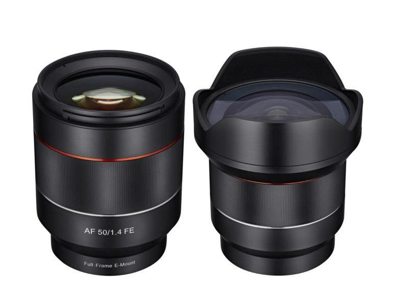 [Image] Samyang Optics Announces 14mm & 50mm Autufocus Lens