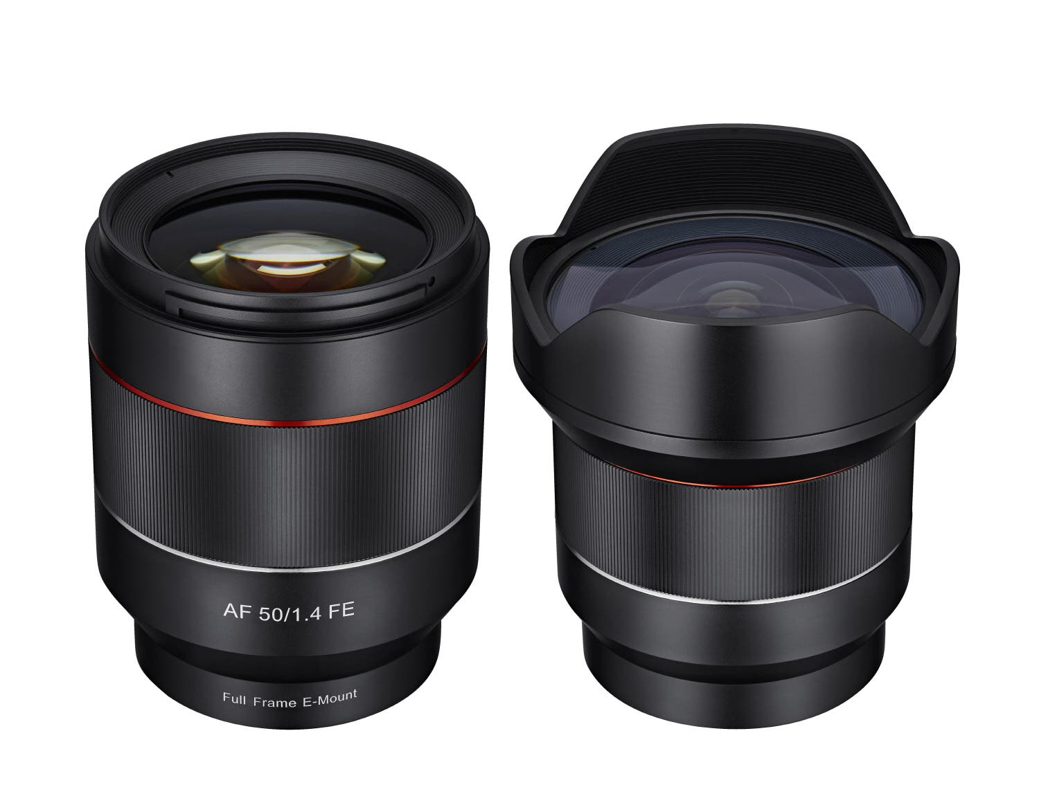 Samyang Announces New 14mm f2.8 and 50mm f1.4 Autofocus Lenses