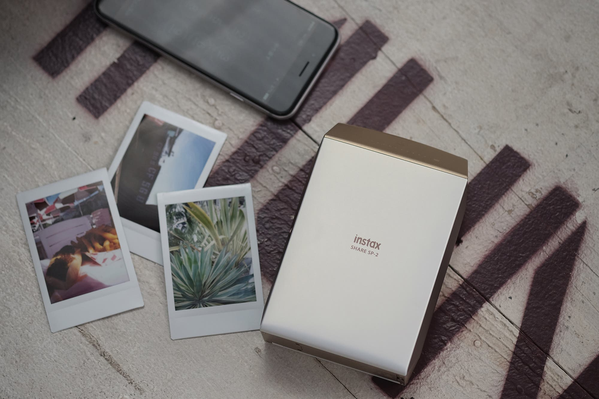 The Fujifilm instax SHARE SP-2 Lets You Add Filters and Collages to Your Instax Prints